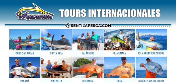 Aquafish: Cronograma Fishing Tour 2017/18