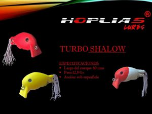 hoplias lures turbo shalow