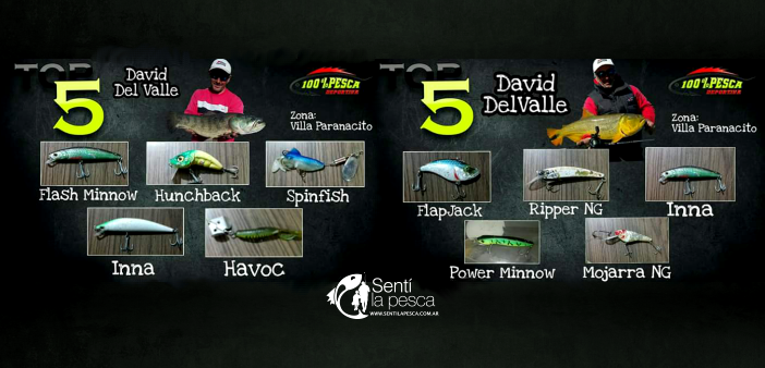 DAVID DEL VALLE TOP 5 dest